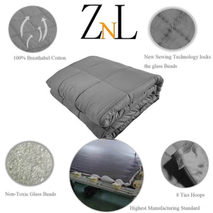 Dark Grey Weighted Blanket Toronto