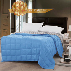 ZNL Weighted Blanket Vancouver Canada| Deep Sleep, Comfortable Blankets | 2 Colors