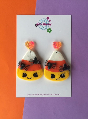 Halloween Candy Dangles Cookie Earrings