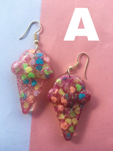 Sweet icecream earrings