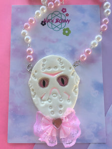 Friday the 13th Statement Necklace Jason Vorhees