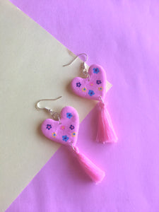 Flower power mini daisy earrings
