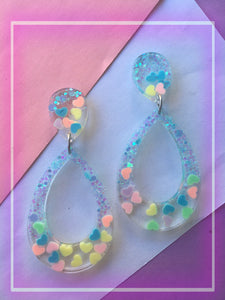 Dreamy Candy Heart Dangles