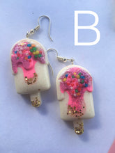 Load image into Gallery viewer, Sweet icecream earrings