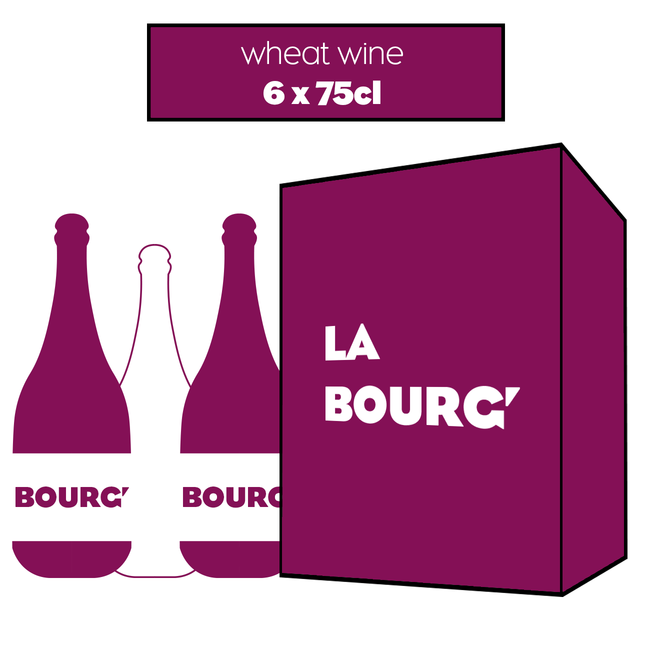 6 x BOURG' (Wheat wine 18 mois)