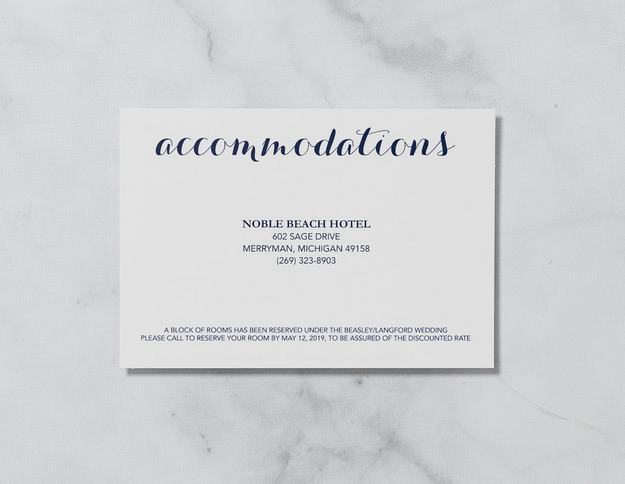 Graceful Script - Details Card