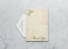 Palm Leaves - Thank You Card & Envelope