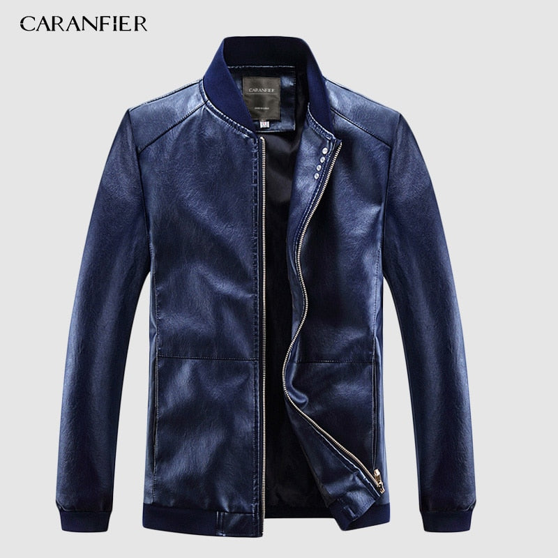 CARANFIER Faux Outerwear Business Jacket