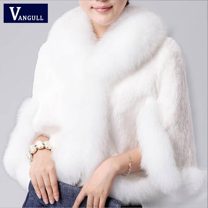 Vangull Winter Faux Fur Overcoat