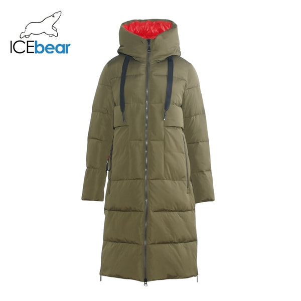 ICEbear Woman Hooded Parka