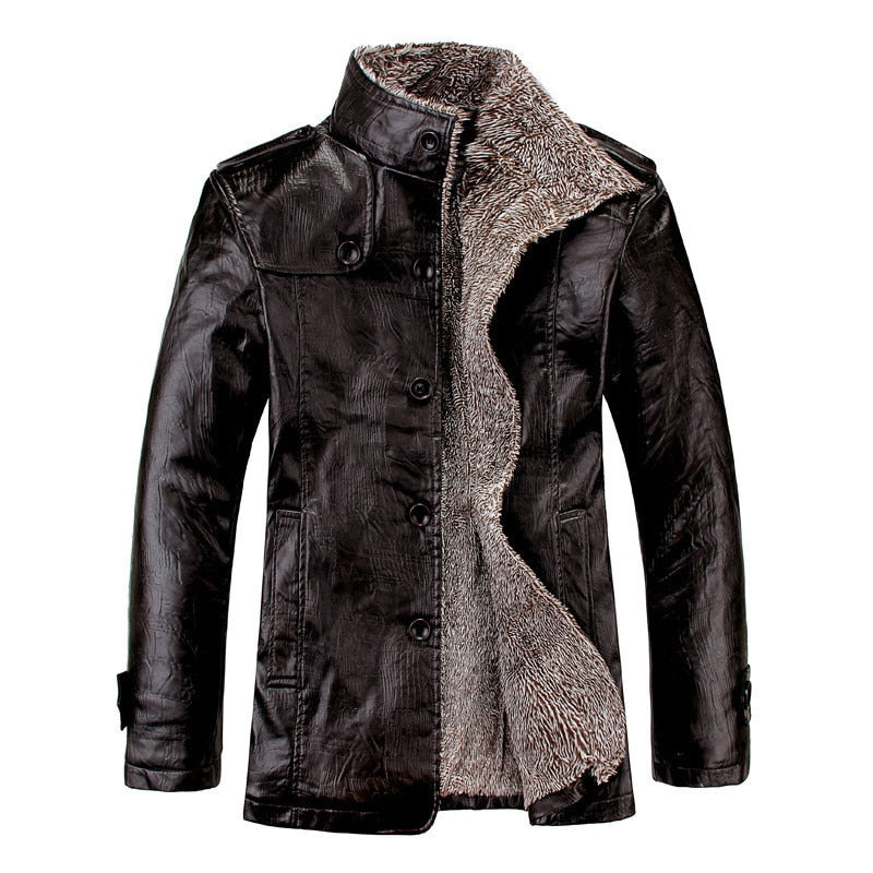 Men's Motorcycle PU Leather Coats
