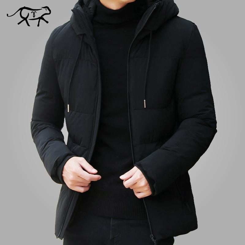 Casual Stand Collar Hooded Coat Jacket - Jacketfy