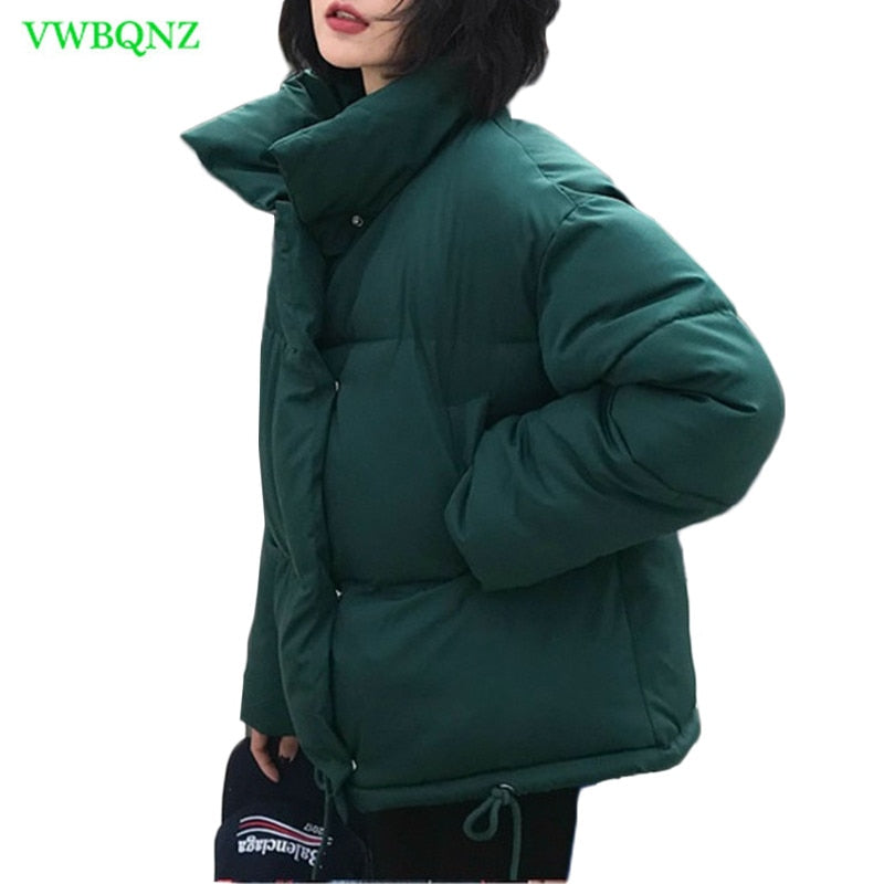 Korean Bread Service Wadded Jacket