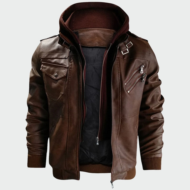 Autumn Casual Motorcycle Jacket