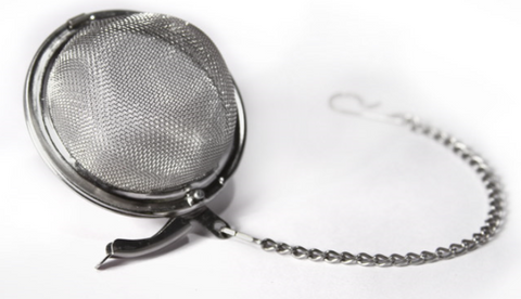 Mesh Ball Strainer w/ Chain