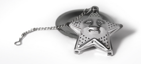 Stainless Steel Star Strainer w/ Drip Plate