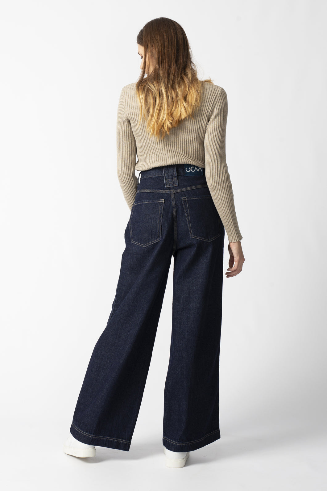Wide Leg Denim Jeans - Skater Denim - United Change Makers - Organic Jeans