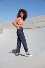 Load image into Gallery viewer, MAYA - High Waist Straight Leg Organic Jeans - Rinse