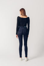 Load image into Gallery viewer, Dark Blue - Carrie High Waisted Super Skinny - United Change Makers - Organic Jeans