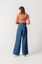 Load image into Gallery viewer, Wide Leg Denim Jeans - Skater Denim - United Change Makers - Organic Jeans