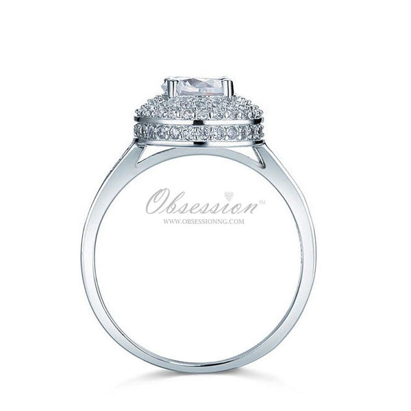 Chelsea Engagement Ring - Sterling Silver