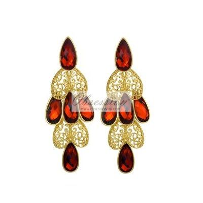 Erica Earrings - Gold