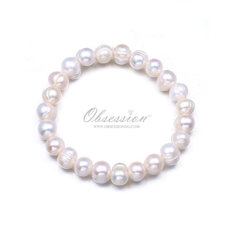 Evelyn Pearls Stretch Bracelet
