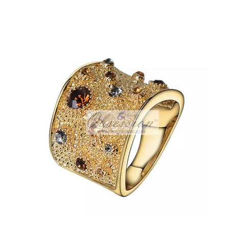Fantasia Cocktail Ring - Gold