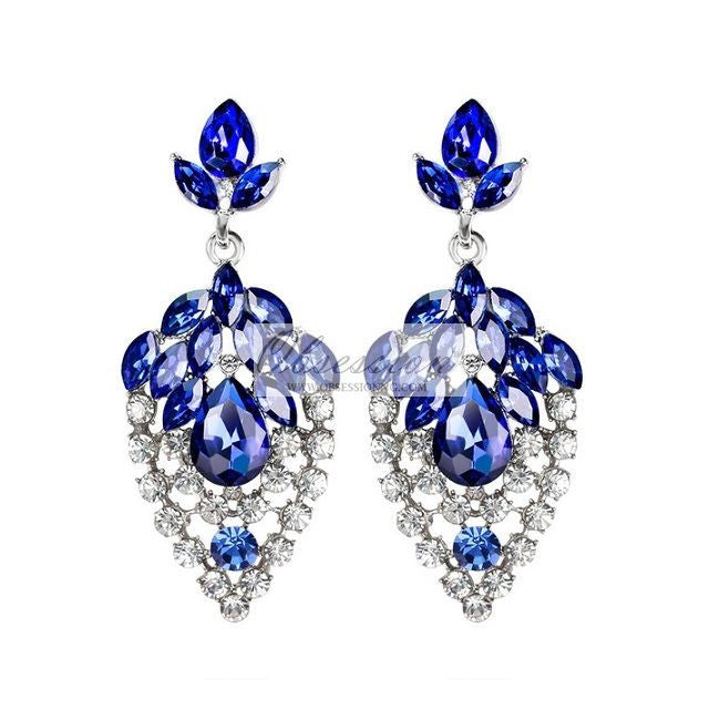 Jacqueline Crystal Earrings