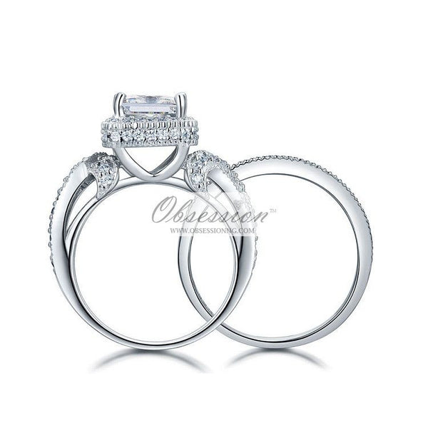 Juneau Bridal Set - Sterling Silver