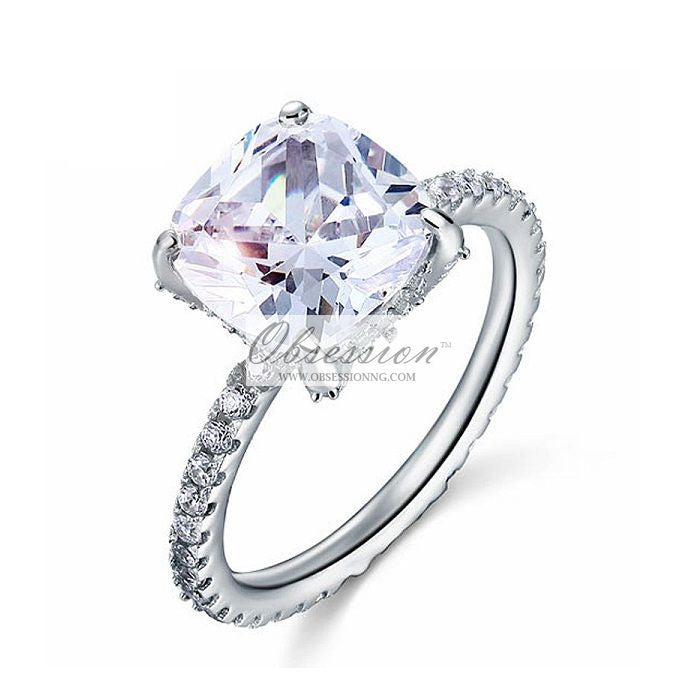 Kimberley Engagement Ring - Sterling Silver