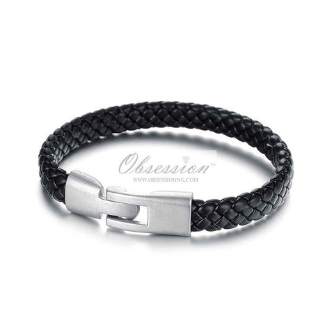Men's Clive Leather Bracelet