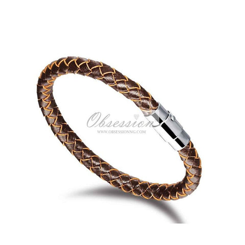 Men's Luke Leather Bracelet