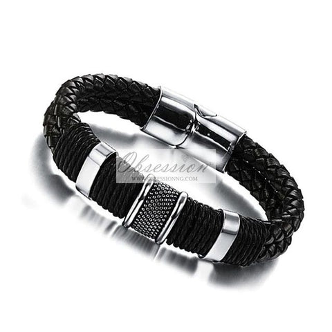 Men's Clifton Leather Bracelet
