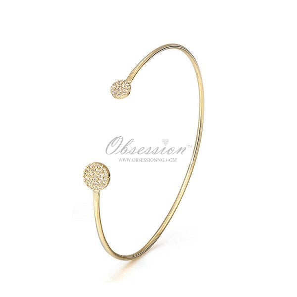 Minerva Cuff Bangle - GP