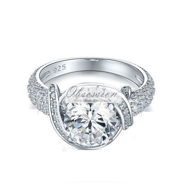Odessa Engagement Ring - Sterling Silver