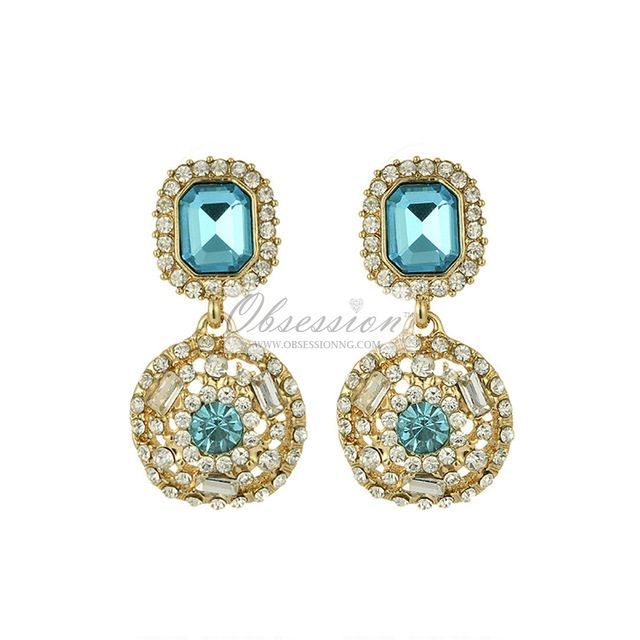 Palma Crystal Earrings