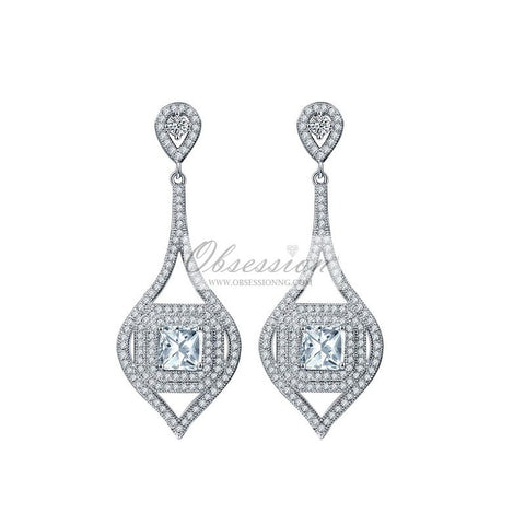 Regina Crystal Earrings