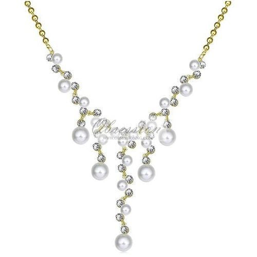 Selene Bold Pearls Necklace