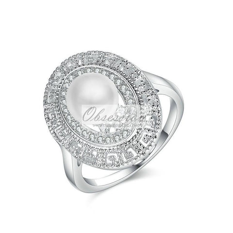 Sera Pearl Cocktail Ring
