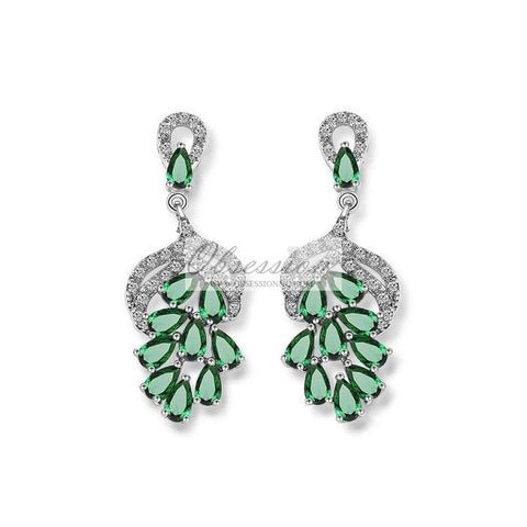 Sheryl Crystal Earrings