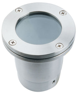 Oak Stainless Steel 50W In-Ground Well Light W/ LED Lamp - Beverly Lighting
