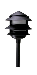 Westgate Bronze & Black 3W 12V LED Pagoda Light - Beverly Lighting