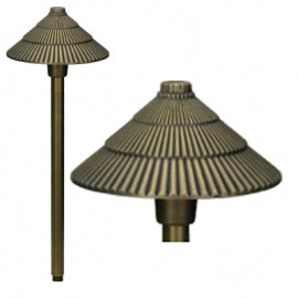 BQL LV10 Die Cast Brass Low Voltage Path Light - Beverly Lighting