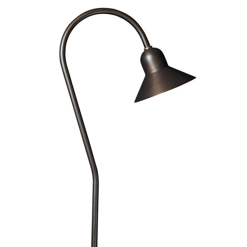 Oak Cast Brass Bell 50W W/ G4 LED Lamp - Beverly Lighting