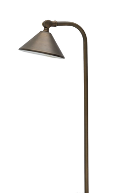 ABBA Brass 3000K LED Path Light - Beverly Lighting