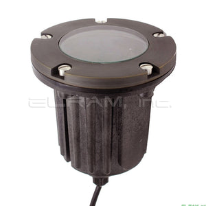 Oak Cast Brass Composite 50W In-Ground Well Light - Beverly Lighting