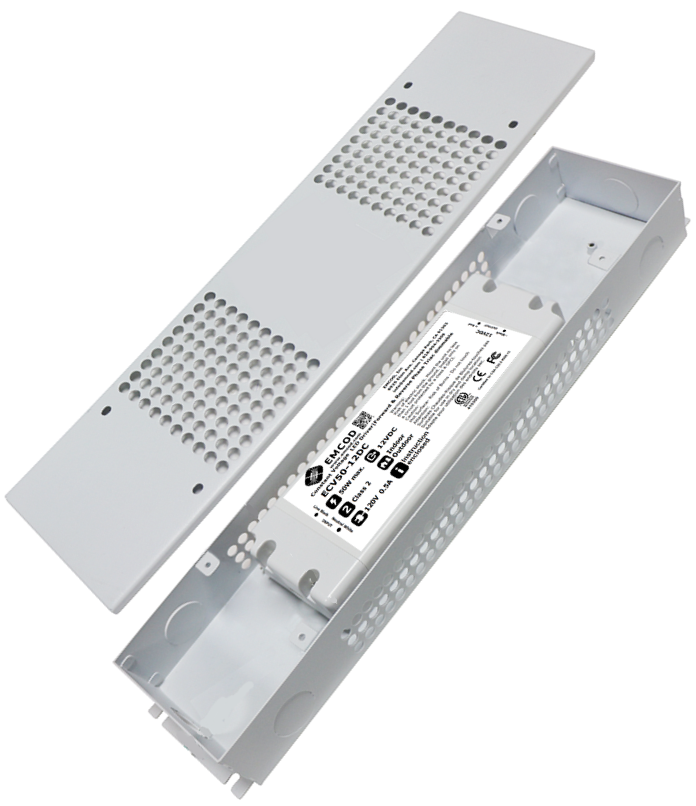 Emcod 25W Class 2 Electronic Triac Dimmable Plastic Suitable For Dry And Damp - Beverly Lighting