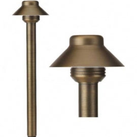 BQL LV60 Die Cast Brass Low Voltage Path Light - Beverly Lighting
