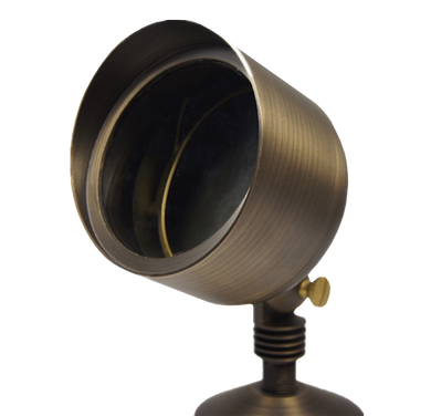 ABBA Cast Brass 3000K LED Spot Light - Beverly Lighting